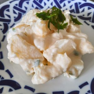 ensalada de patata alioli